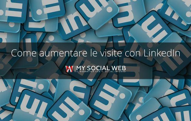 aumentare le visite del blog con LinkedIn