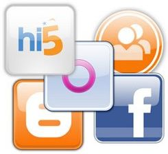 Icone per Social Network