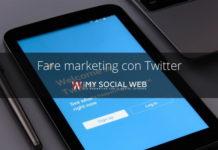 fare marketing con twitter