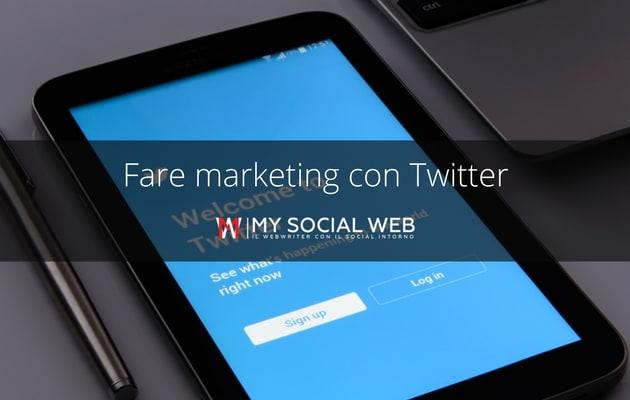 Web Marketing con Twitter