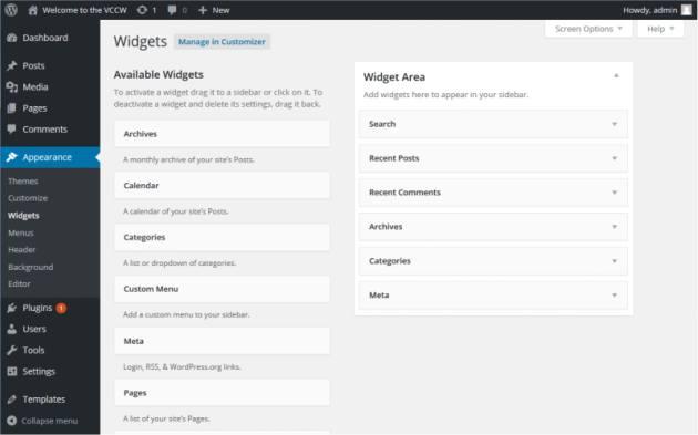 Come aggiungere e togliere i widget