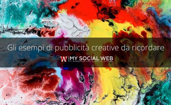 pubblicità creative