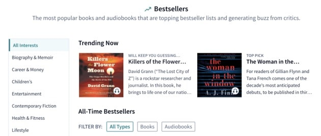 bestseller scribd