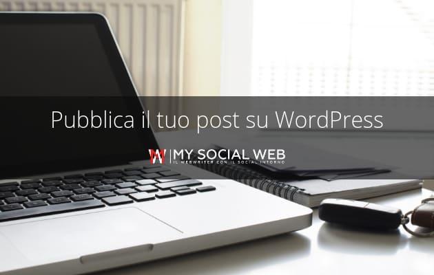Come creare un articolo su WordPress