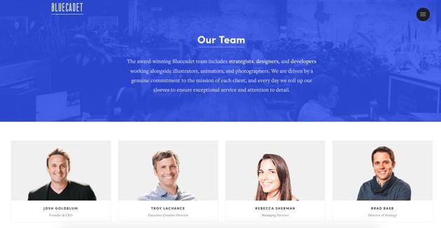 pagina aziendale esempio