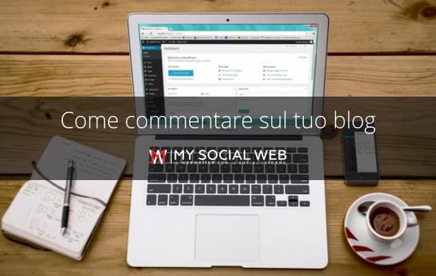 Come commentare un sito