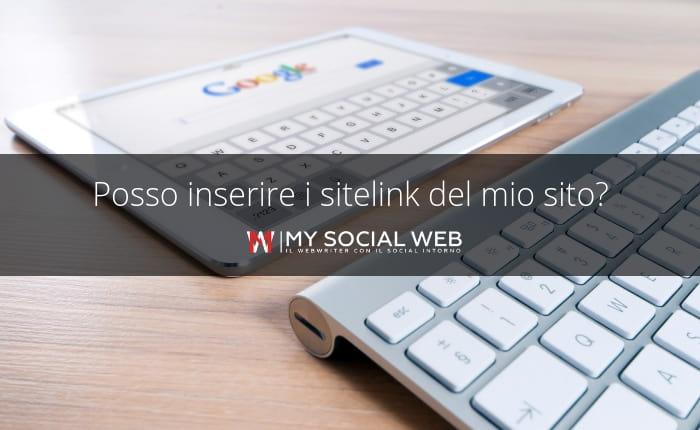 Google Sitelink, cosa sono?
