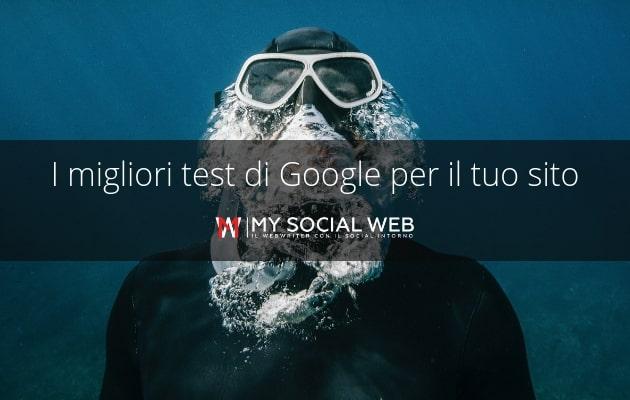 test di google