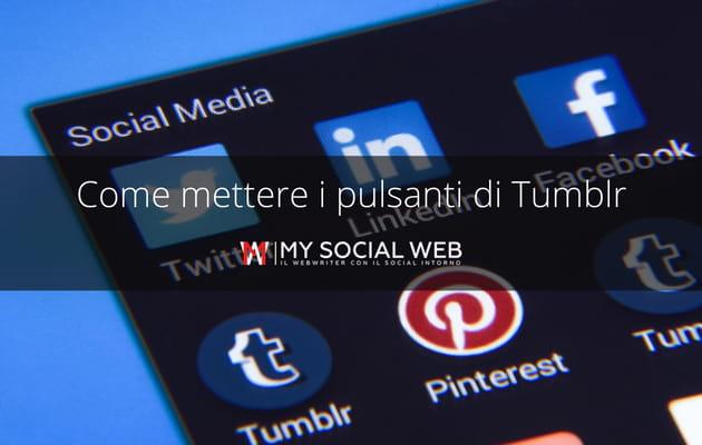 Tumblr Share Button