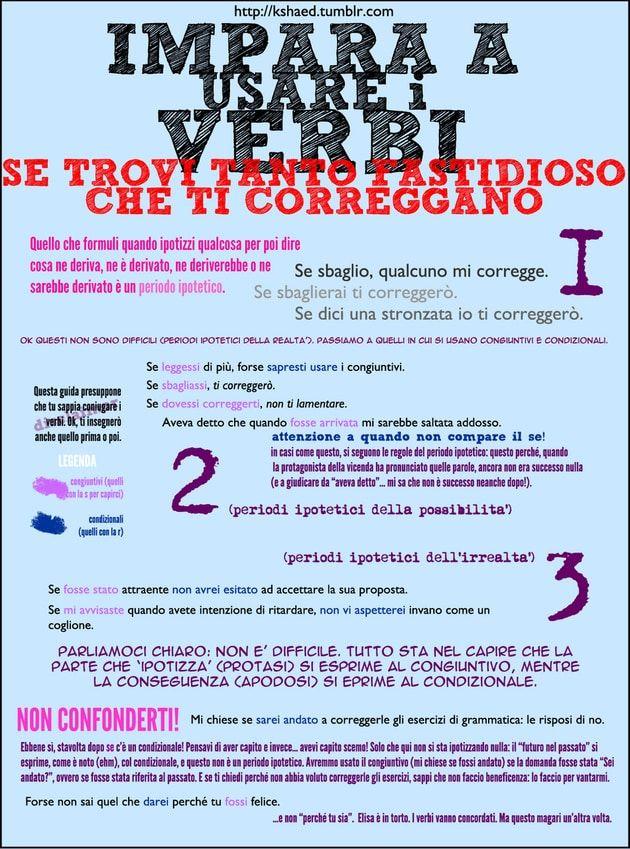Impara a gestire i verbi al meglio