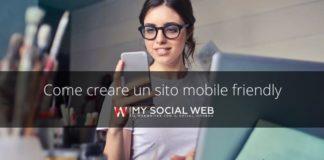 come creare siti mobile friendly