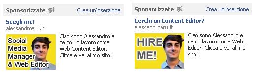 facebook lavoro