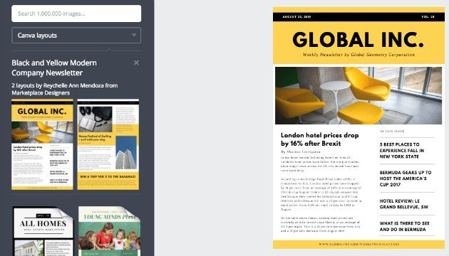Media Kit template per blogger