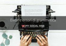 Come evitare errori grammaticali