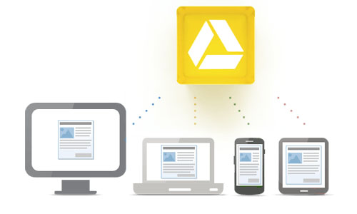 Google Drive app cloud