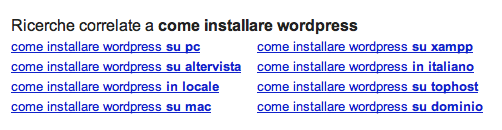 correlate keyword
