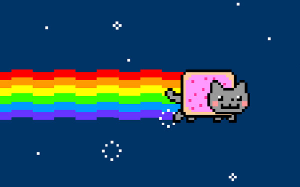 nyan cat - viral marketing