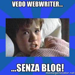 webwriter blog