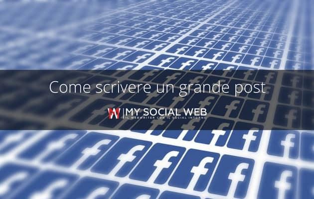 Scrivere su Facebook
