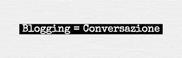 blogging conversazione
