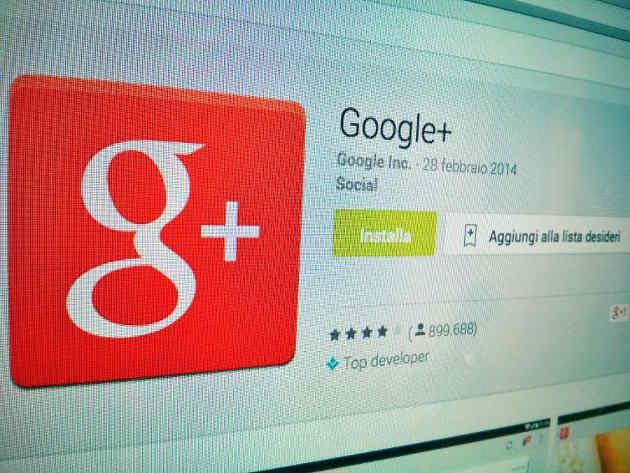 creare conoscenza google plus