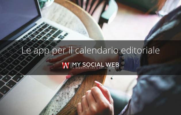app per calendario editoriale