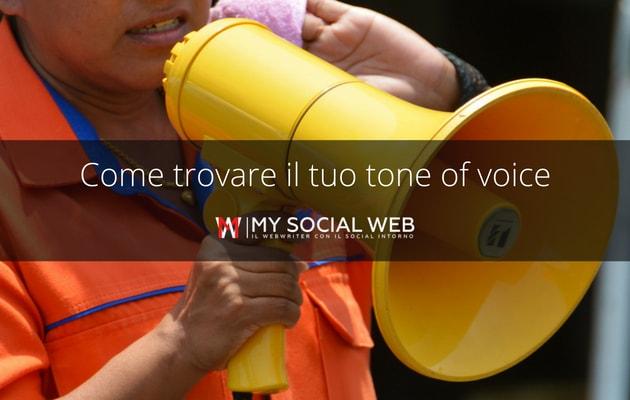 come trovare il tone of voice