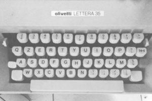 macchina scrivere