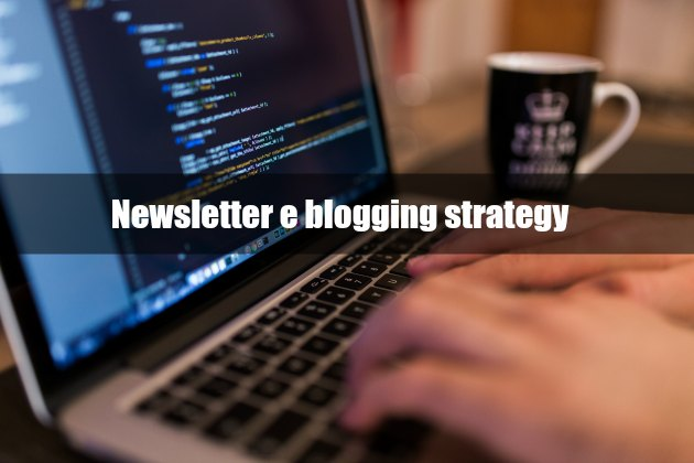 newsletter blogging