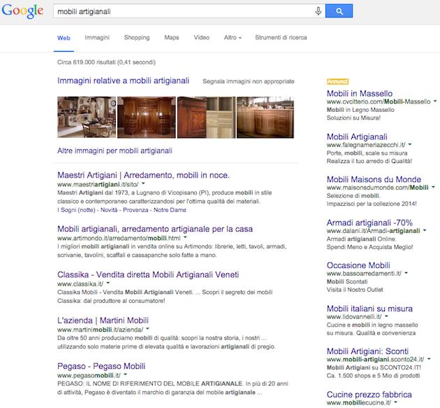 SERP Google