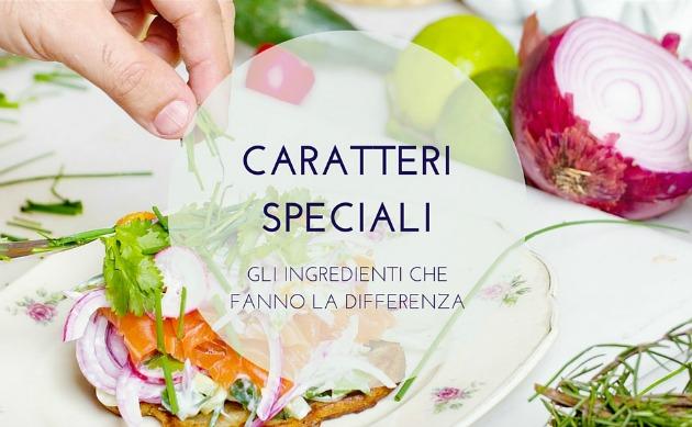 Carartteri speciali blog