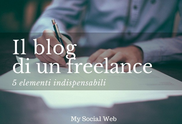 Il blog di un freelance