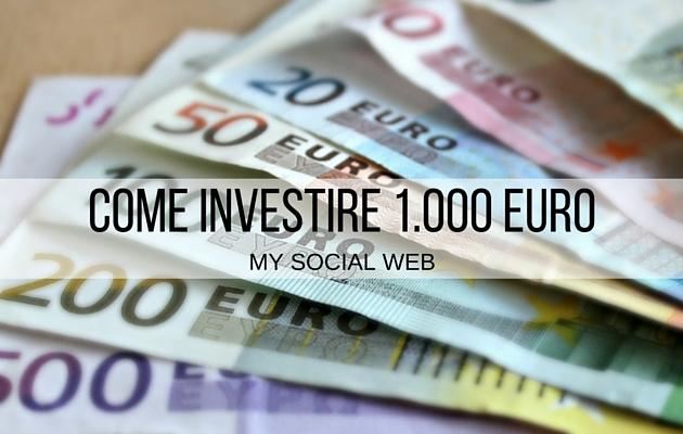 Come spendere 1000 euro