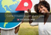 come trovare siti per guest post