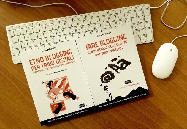Impara a fare blogging: i miei libri
