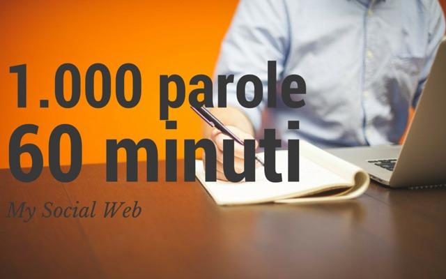 Come scrivere un articolo di 1.000 parole