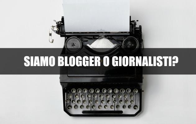 blogger giornalisti