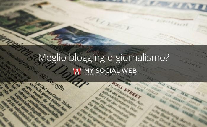 blogging e giornalismo