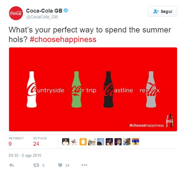 coca-cola social media campaign