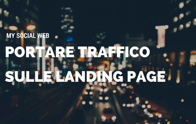 traffico landing page