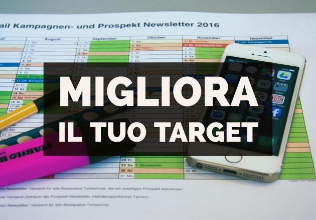 migliorare il target