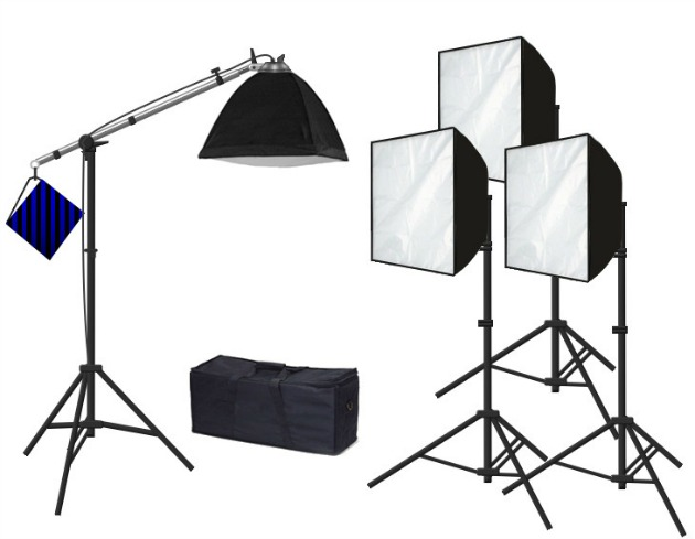 creare video - luci