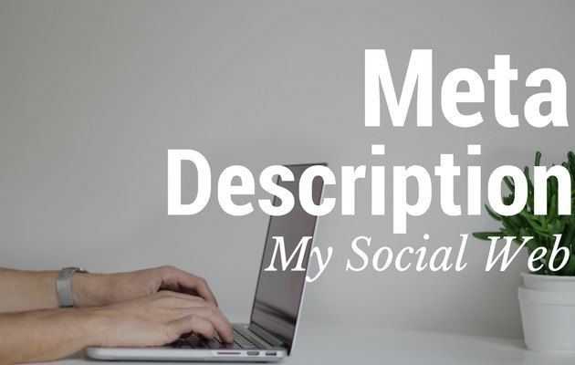meta description blog wordpress