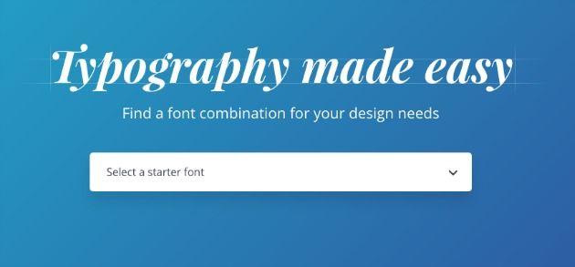 Come combinare i font sulle immagini