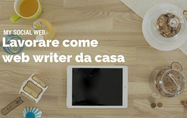 web writer da casa