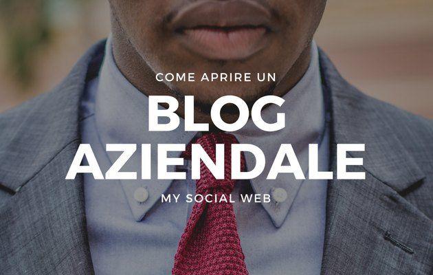creare un blog aziendale