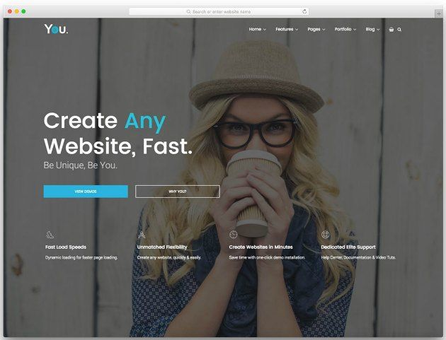 template blog aziendale