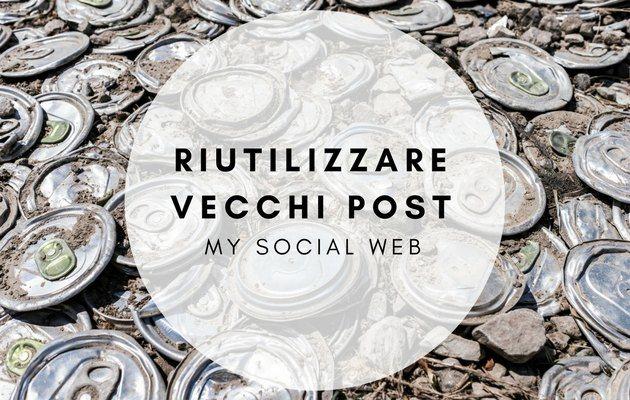 riutilizzare gli articoli del blog