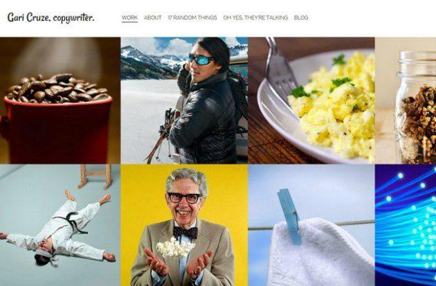 esempi di portfolio creativi