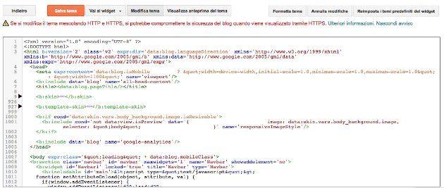 creare un blog con google